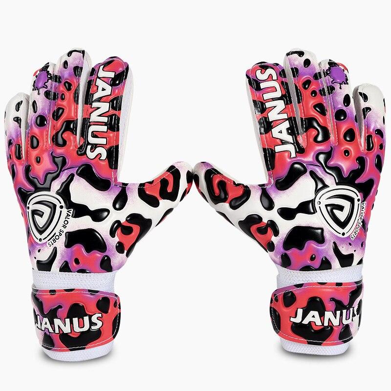 2017 New Professional Latex Soccer Goalkeeper Gloves Kids Football