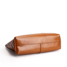 2016 New Women Handbag Genuine Leather Shoulder Bag Tote Ladies Black Brown Blue Casual Shopping Bag Large Capacity Tote Bolsos