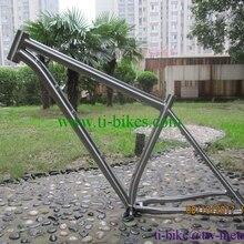 Лидер продаж титановый MTB велосипеда с 142x12 отсева, пользовательские рамка для титанового велосипеда, дешевые титановая велосипедная Рама с щеткой