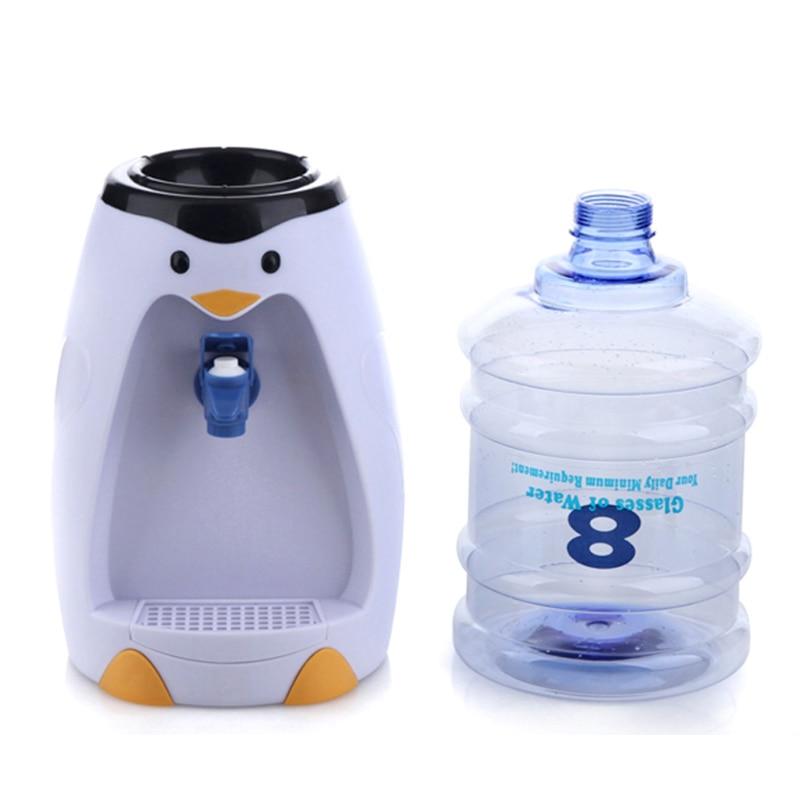 Penguin water dispenser 8 cups table water dispenser non-heat mini water dispenser penguin island