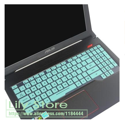 15.6 laptop keyboard cover protector skin For Asus TUF