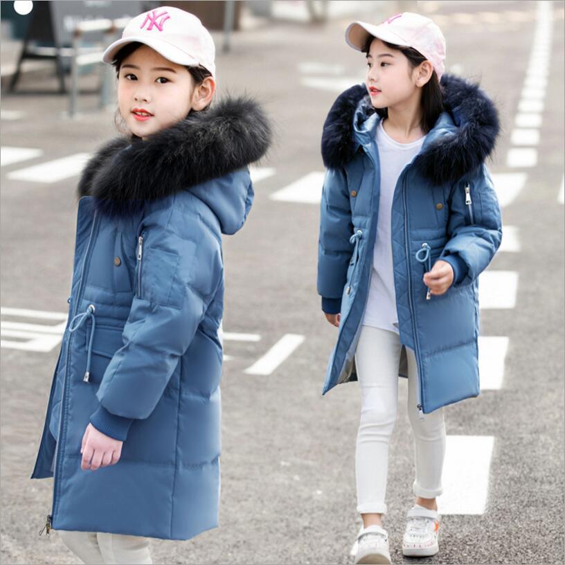 8c3afa40a Children Winter Jacket Boy Girl Fashion Winter Coat Kids Warm Thick ...