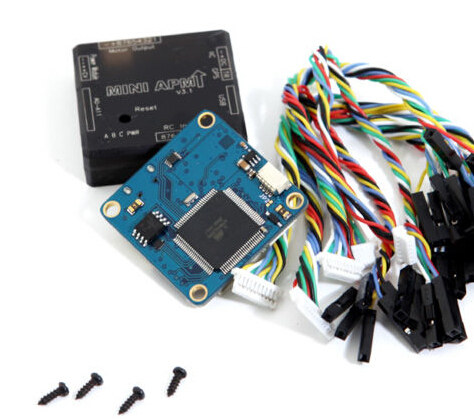 Miniapm V3.1 Mini Ardupilot Mega 2.6 External Apm Flight Controller For Multicopter Fpv 3dr power module apm2 2 5 apm flight controller ardupilot mega apm2 6 f