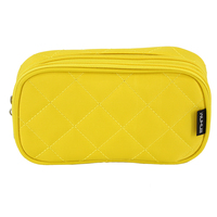 Cotton Linen Portable Mini Cosmetic Bag Make Up Organizer Box Case Beauty Vanity Travel Wash Makeup