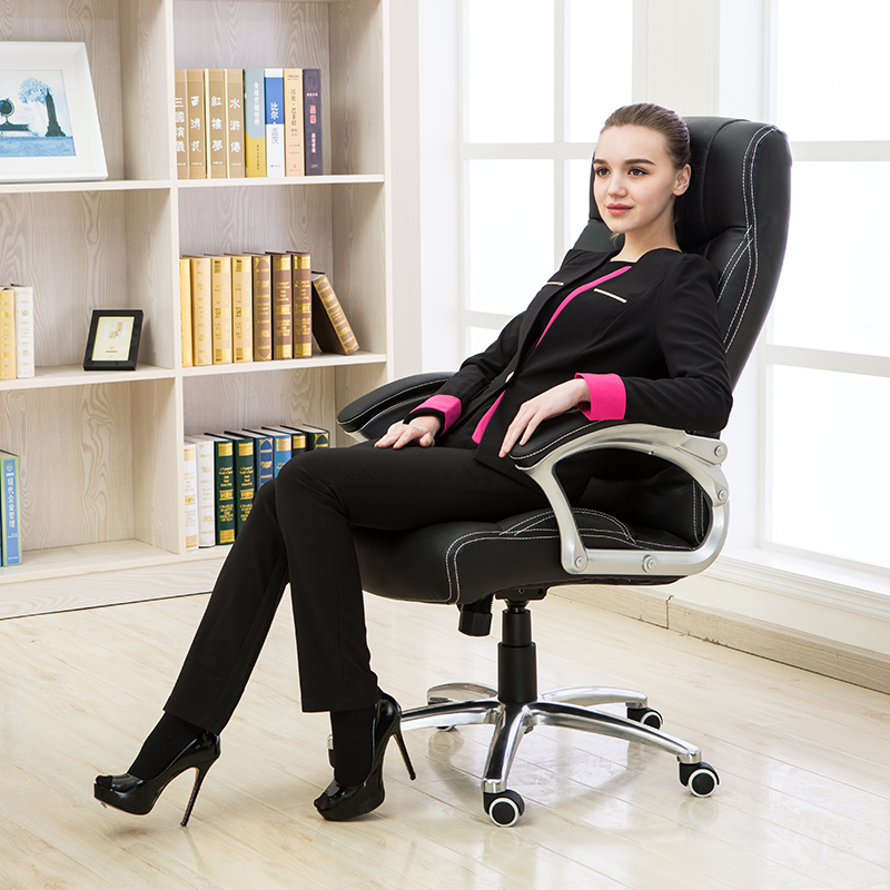 High quality computer home office chair leather chair boss lifting rotary chair are ergonomic chair 240340 high quality back pillow office chair 3d handrail function computer household ergonomic chair 360 degree rotating seat
