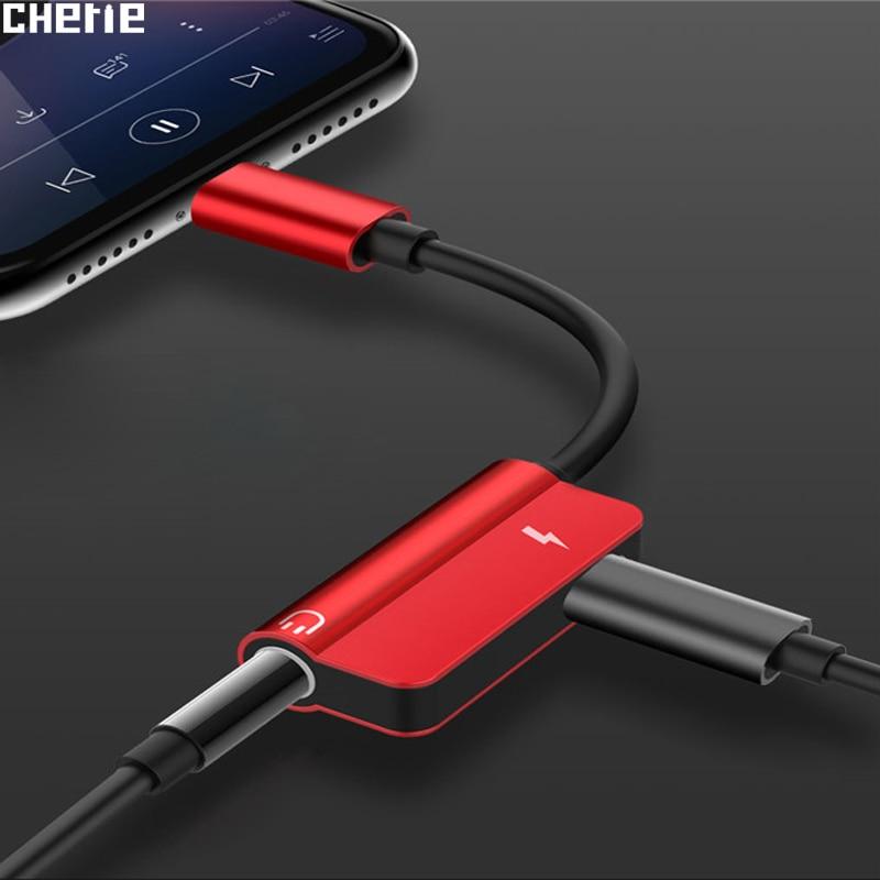 Cherie Type-C To 3.5mm Jack AUX Headphone Audio Splitter Converter Adapter For Xiaomi Mi 9 Samsung S10 S10+ Tipe C Fast Charging
