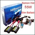 55 w Xenon Carro 12 v HID kit H1 H3 H7 H8 H9 H10 H11 9005 9006 HB3 Hb4 880 881 Auto Lâmpada De Metal Fino Lastro