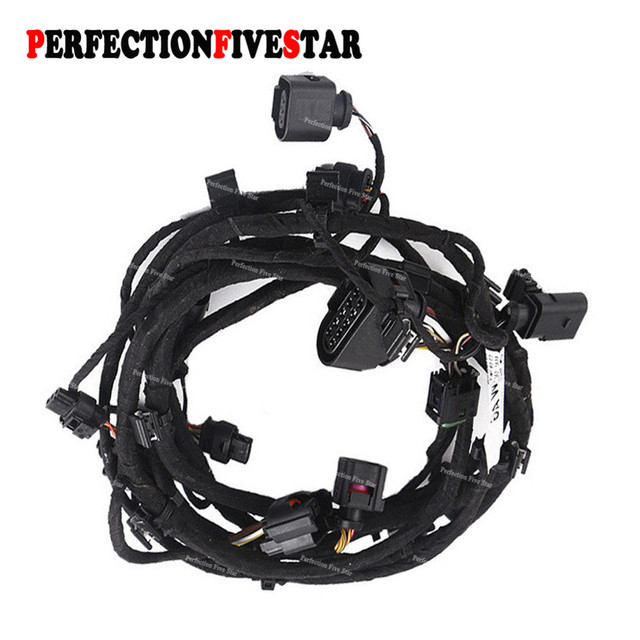 us $83 58 4l0971095q for audi q7 2007 2008 2009 front bumper engine control module wiring harness in battery cables \u0026 connectors from automobiles \u0026 Ford Alternator Wiring Harness