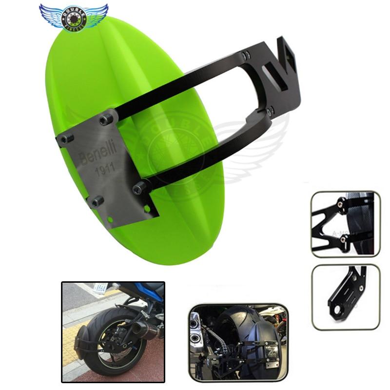 Motocicleta cnc de aluminio accesorios de la motocicleta guardabarros trasero gu