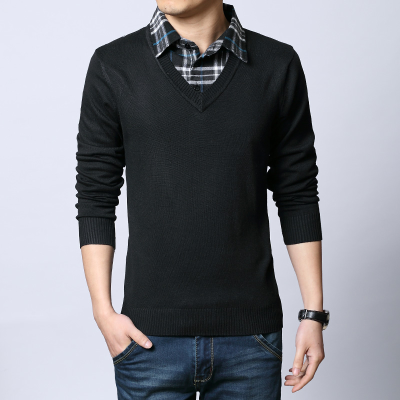Fashion 2017 for mens - Mens Pullover Sweaters Picture More Detailed Picture