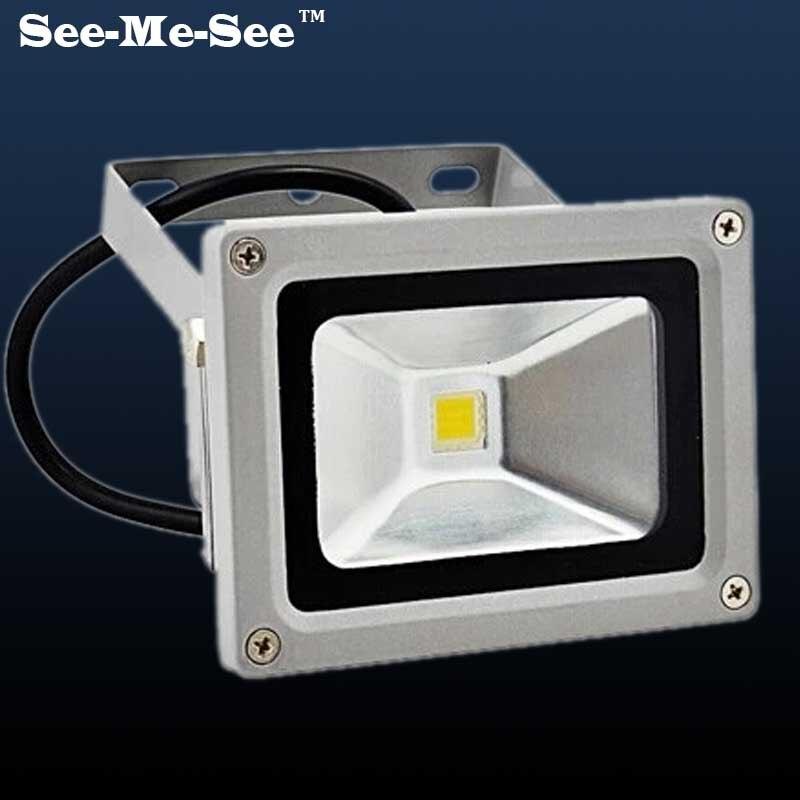 LED FloodLight 10W 20W 30W 50W IP66 Waterproof 220V 110V LED Spotlight Refletor LED Outdoor Lighting Gargen Lamp,SMFL-01