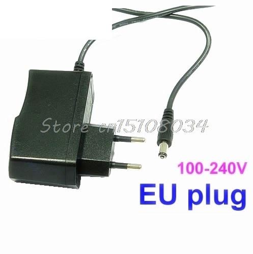 AC100V 240V to DC 12V 1A EU Plug Power Supply Adapter Wall Charger DC 5 5mm