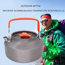 HobbyLane открытый домашний кипящий чайник 1,1л алюминиевый сплав портативный чайник
