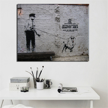 Art Street Graffiti Banksy Wall Canvas Painting Posters Prints Modern Pictures For Living Room Home Decoration