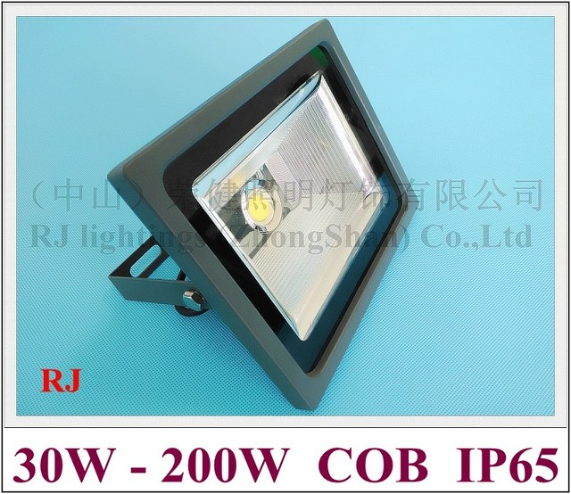Светодиодный прожектор Новый стиль супер мощный внешний драйвер Светодиодный прожектор Наводнение лампы 30 Вт 50 Вт 100 Вт 150 Вт 200 Вт AC85-265V IP65 с...
