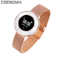 EDENGMA Fitness Smart Bracelet X6 Sleep Monitor Sport Mode Calorie Pedometer Yoga Mode Fitness Wristband for Women tracker/gift