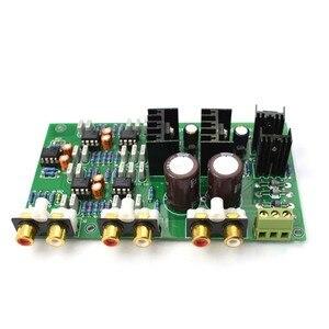 Image 5 - Lusya NE5532 Ayarlayabilirsiniz 2 menzilli 2 yönlü Hoparlör Aktif Frekans Bölücü Crossover Linkwitz Riley Devre DSP A8 014