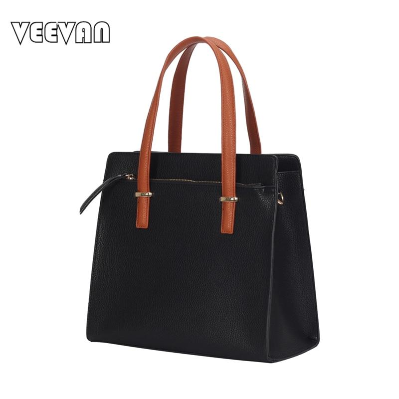 ФОТО 2017 Fashion Women Handbags High Quality Leather Shoulder Bags Crossbody Bags Office Ladies Tote Handbags Messenger Bags Female