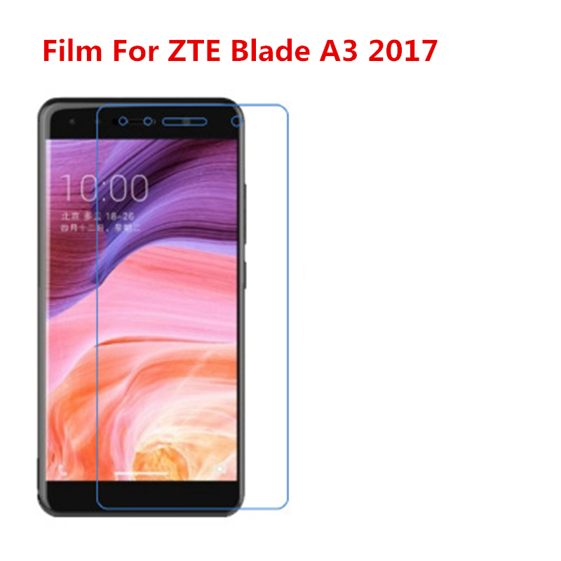 5 Pcs Ultra Thin Clear HD LCD Screen Guard Protector Film With Cleaning Cloth Film For ZTE Blade A3 2017.