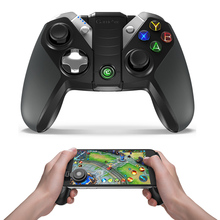 GameSir G4s con Joystick Grip, Regulador del Juego de Bluetooth para Android Smartphone/Android Tablet/Samsung Engranaje VR/Windows PC/PS3