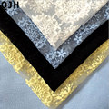 Dandelion Organza Embroidered Milk silk African Pearl stone Net Lace French Voile Guipure tulle mesh Lace Fabric For Dress