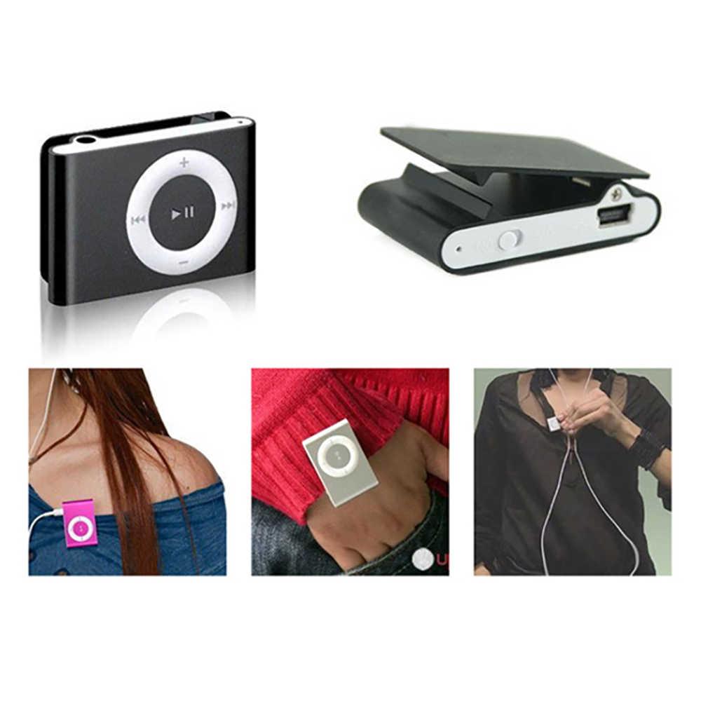 مشغل موسيقى صغير محمول MP3 مشبك صغير محمول مشغل موسيقى MP3 مقاوم للماء الرياضة مشبك صغير مشغل موسيقى Mp3 وكمان ليتوري
