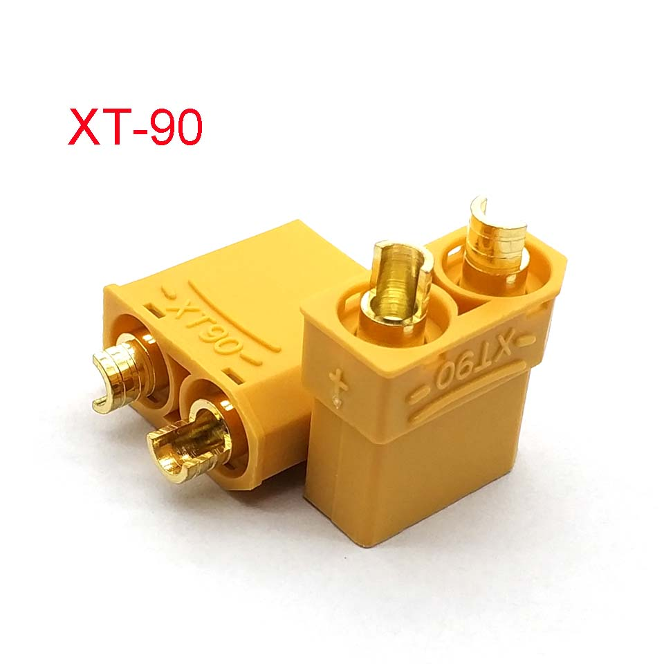 XT90 Yellow Battery <font><b>Connector</b></font> Set <font><b>4.5mm</b></font> Male Female Gold Plated Banana Plug image