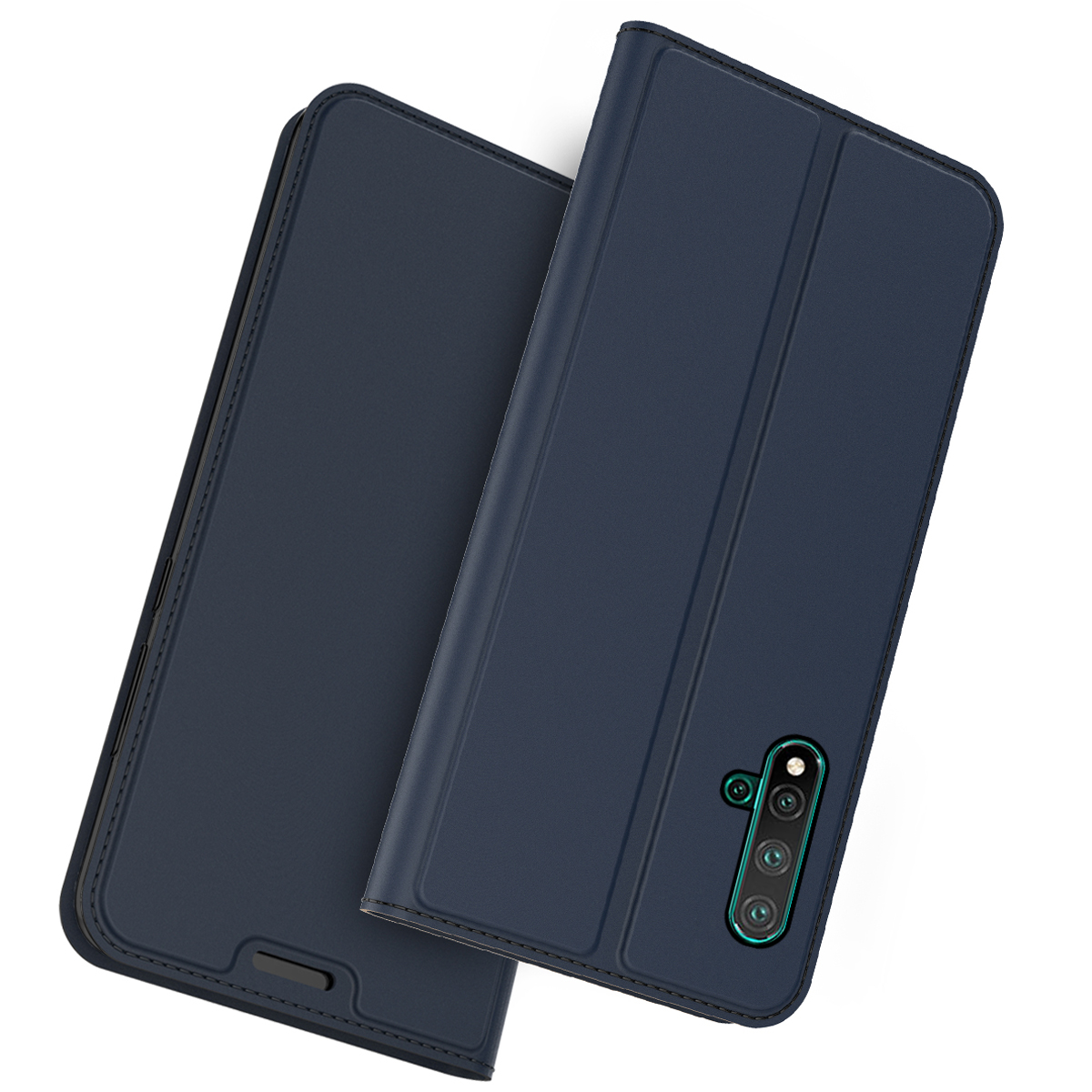 For Huawei Nova 5 Nova 5 Pro Nova 4 3 3i Case Luxury PU Leather Flip Stand Wallet Case For Huawei Nova 3 3i 4 Cover Card Holder in Flip Cases from Cellphones Telecommunications