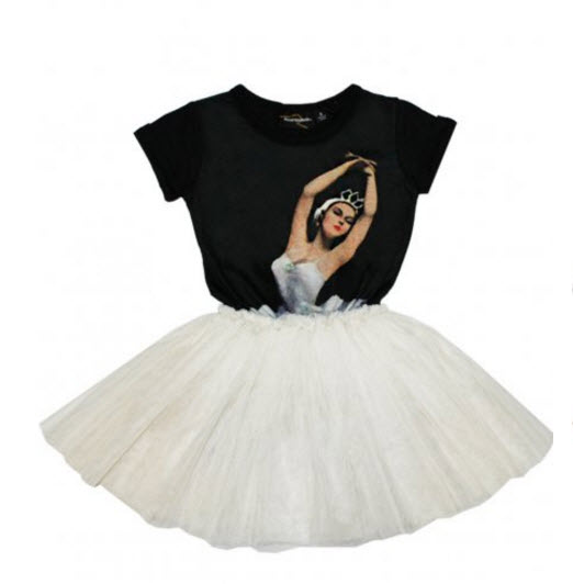 Summer style rock toddler girls dance rehearsal ballet circus dress baby feminine tutu dress with dancer graphic new girls ballet costumes sleeveless leotards dance dress ballet tutu gymnastics leotard acrobatics dancewear dress