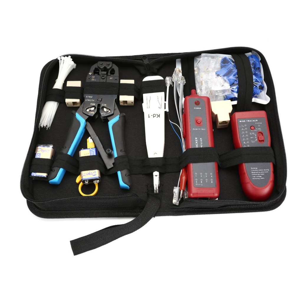 High Quality Network Toolkit Set A135 Line Finder Net Pliers Set Network Set Kit Network Line Finder Kit Package Set Drop ShipHigh Quality Network Toolkit Set A135 Line Finder Net Pliers Set Network Set Kit Network Line Finder Kit Package Set Drop Ship