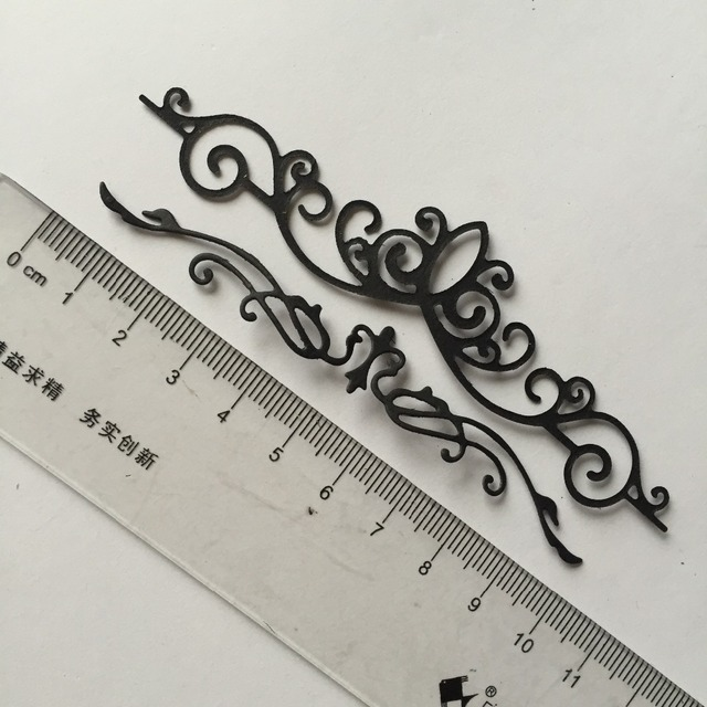 Lace pattern Scrapbooking cutting die paper crafts thin metal die cuts 110x28mm /100x18mm