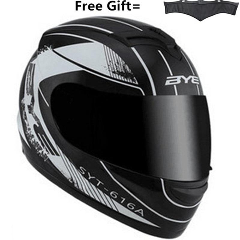 BYE Brands Motorcycle Helmet Vintage Retro Cruiser Chopper Cafe Racer Capacetes Moto Motocross Motorbike Full Face