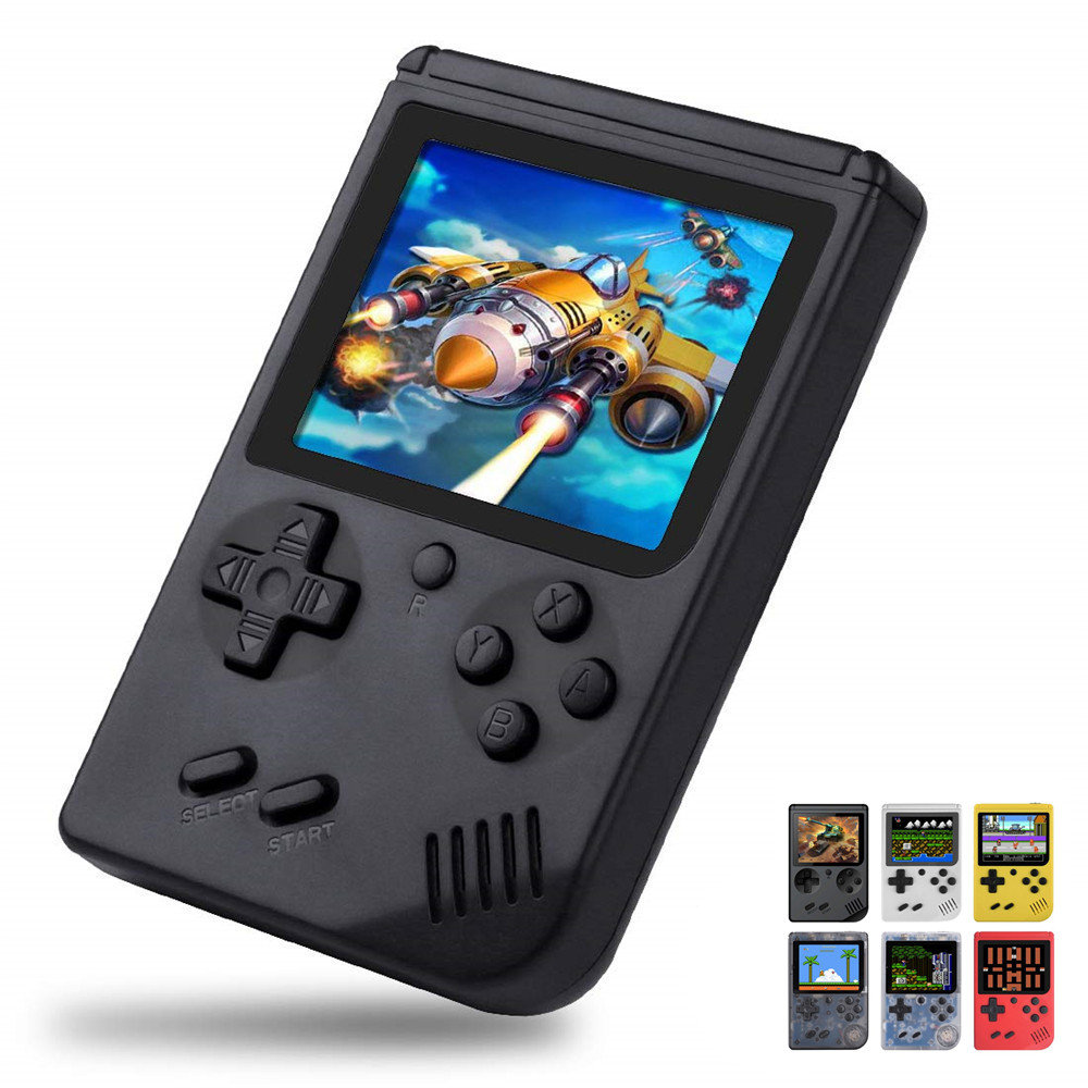 Retro Video Game Console 8 Bit Mini Pocket Handheld Game Player Built-in 168 Classic Games Best Gift for Child Nostalgic Player(China)
