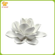 LXYY креативная Мода лилии свечи формы силиконовые формы для торта глина для поделок цветок
