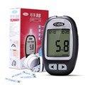 Yizhen Medidores de Glicose No Sangue 25 pcs Tiras de Teste De papel de 25 pcs lancetas Agulhas de Coleta De Sangue de Açúcar No Sangue Detecção Glucosemeter