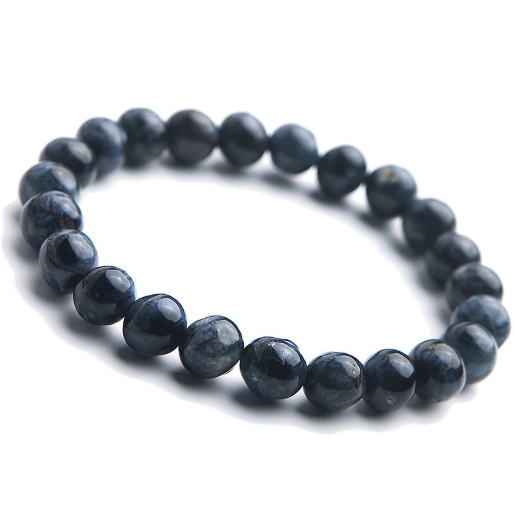 Bracelet en pierre naturelle Pietersite pour hommes femmes 8.5mm cristal de gemme extensible Bracelets de perles rondesBracelet en pierre naturelle Pietersite pour hommes femmes 8.5mm cristal de gemme extensible Bracelets de perles rondes