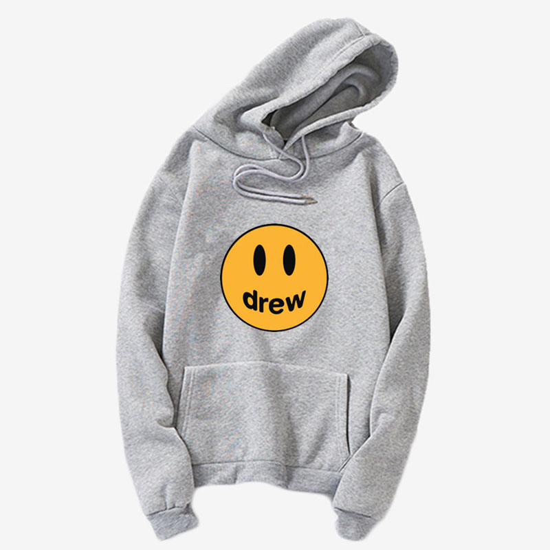 Drew Sweatshirt Drew House Justin Bieber Smiley-Face Clothing Hoodie, Hooded Sweatshirt For Justin Bieb