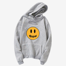 Drew Sweatshirt Drew House Justin Bieber Smiley-Face Clothing Hoodie