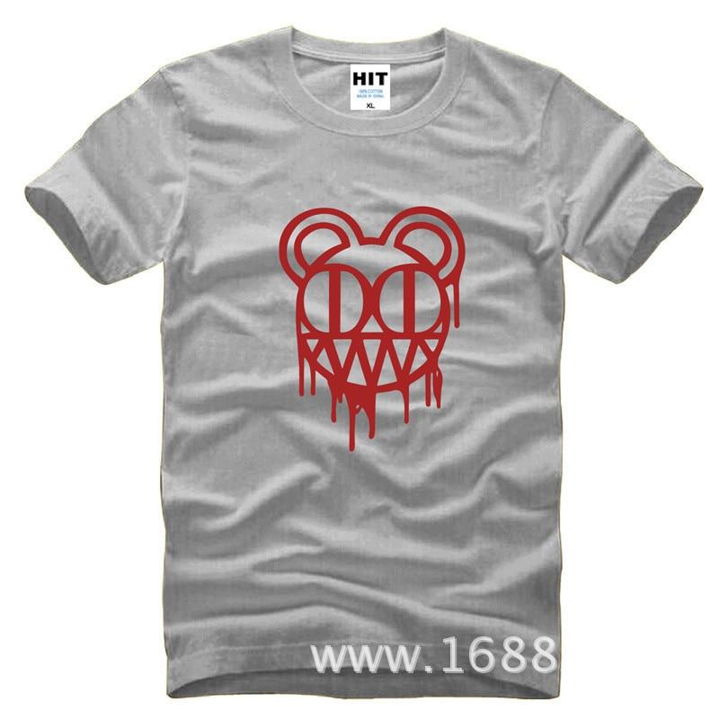 Radiohead rockband Herrman T-shirt Tröja för mode 2015 New Short - Herrkläder - Foto 3
