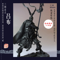 1/16 Resin Soldier Model Suite For Three Kingdoms Lubu Model Kits Unmounted and Unpaited 14LVBU