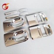שימוש עבור יונדאי h1 grand starex i800 מול דלת אחורי דלת חיצונית ידית כרום כיסוי