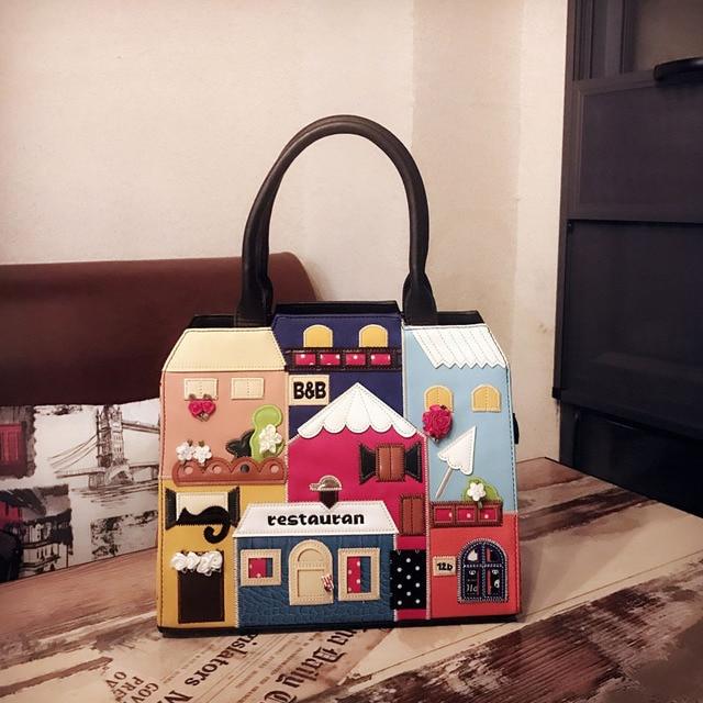 Winner Women Handbags Italy Luxury Brand Braccialini Casual Messenger Bag Cartoon Tote Las Crossbody Bags