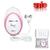 Yeni Mini Angelsounds Fetal Prenatal Nabız Doppler Ultrason Prenatal Fetal Dedektörü 3 MHz