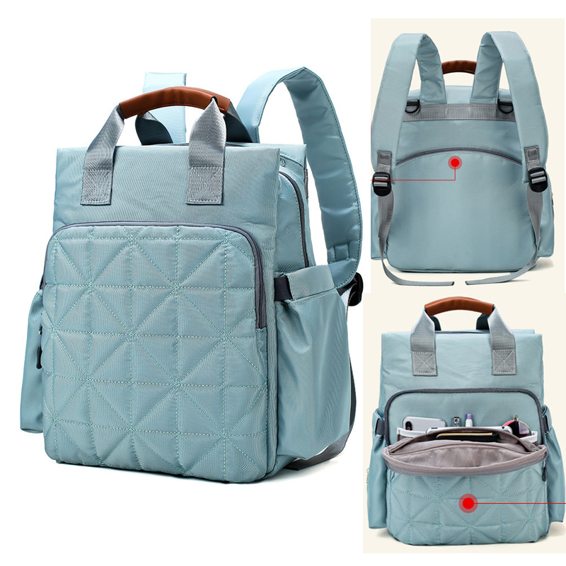 Fashion Backpack For Mom Diaper Baby Bags Woman Nylon Mummy Waterproof Pram Nursing Bag Multifunction Babby Care Bag