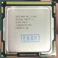 Processador intel core i3 540 i3 540 (cache de 4 m  3.06 ghz) cpu lga 1156 100% trabalhando corretamente processador desktop|desktop processor|core i3-540intel core i3-540 -