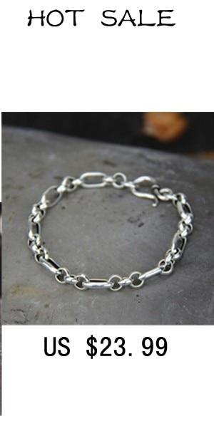 Miami Cuban Chain Bracelet Men 925 Sterling Silver Curb Chain Link Bracelet Biker Hippie Hip Hop Men Jewelry Party Gifts