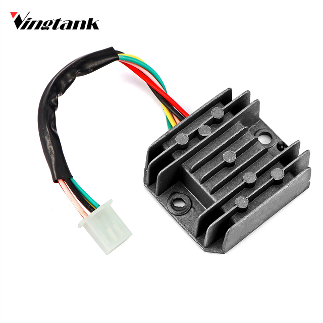 Boat voltage regulator wiring wiring library vingtank 5 wires voltage regulator rectifier for gy6 150cc rh aliexpress com external voltage regulator wiring asfbconference2016 Image collections