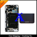 Track no. 100% probado original para Samsung Galaxy note 3 neo Lite N7505 N750 LCD digitalizador asamblea con marco - gris