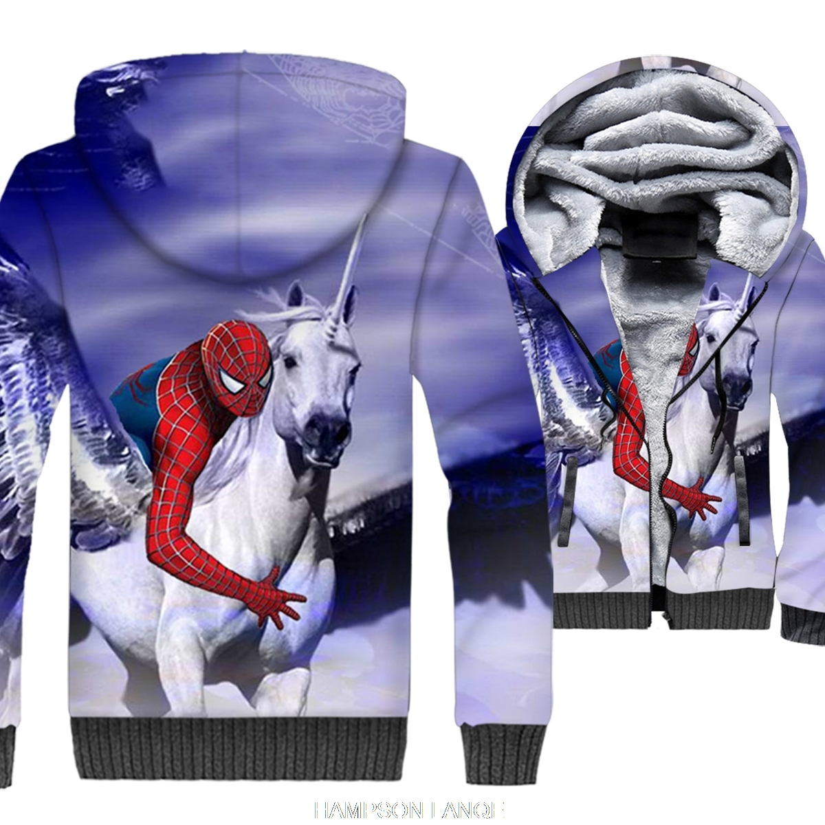 High quality bodybuilding sweatshirts funny cartoon anime jackets coats men wool liner inside fashion jacket 2019 winter clothes