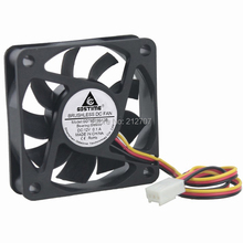 50PCS Gdstime 6cm 60mm 60x60x15mm DC  12V 3Pin Computer PC Cooling Fan